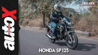 Honda SP 125 First Ride Video Review