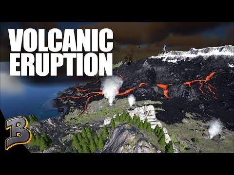 A NEW MEMBER , VOLCANO ERUPTION - Ark Survival Evolved