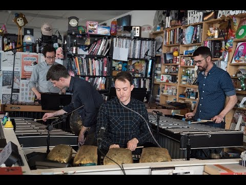 Third Coast Percussion play the NPR Tiny Desk Concert | Percussion Education