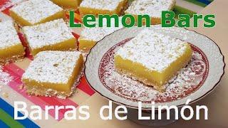 Barras De Limón - Lemon Bars │Receta Paso A Paso Por Club De Reposteria