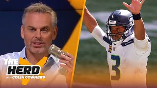 Belichick & Colin agree Russell Wilson is a top-tier QB, Arians too harsh on Brady? | NFL | THE HERD