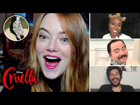 """The """"Cruella"""" Cast Finds Out Which Disney Villain They Really Are"""
