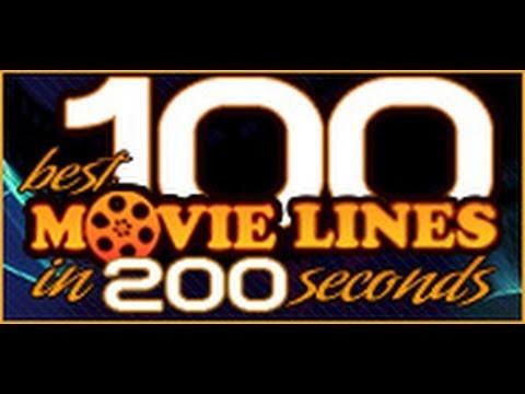 100 najlepszych filmowych tekstów w 200 sekund