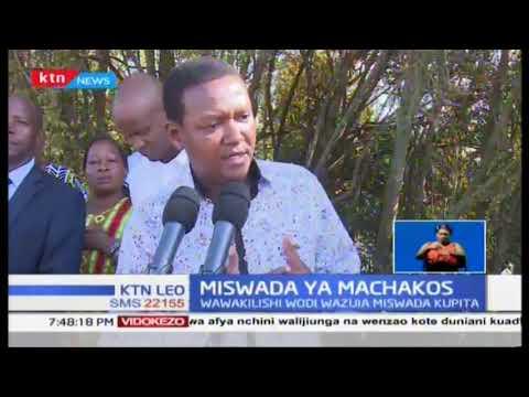 Gavana Mutua ashutumu bunge la kaunti, asema wawakilishi wadi wana ubinafsi