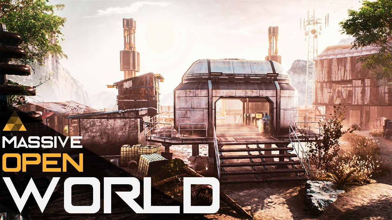 How To Make A Massive Open World Map In Unreal Engine 4