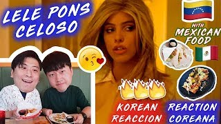 ENG🔥[LIT Action] Lele Pons - Celoso (First time react to Venezuelan famale singer)