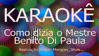 カラオケボックス歴史ComodiziaoMestre-BenitoDiPaulaCante,Grátis,KaraokeHD