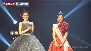 Chi Pu bất ngờ được Ngọc Trinh trao vương miện, nói Tiếng Anh cực chuẩn tại WebTV Asia Awards 2019!