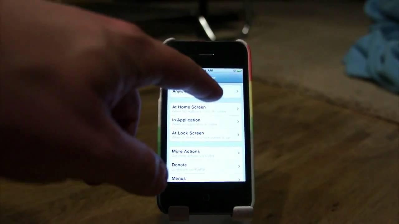 Multitasktures: Swipe Between Apps On Your Jailbroken iDevice