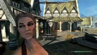 Skyrim HD Выживание Домик охотника Серия 7