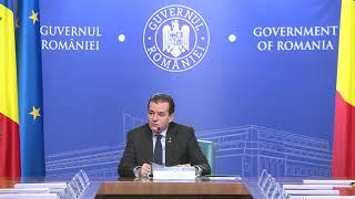 12/10/19 Declarații susținute de premierul Ludovic Orban la începutul ședinței de guvern