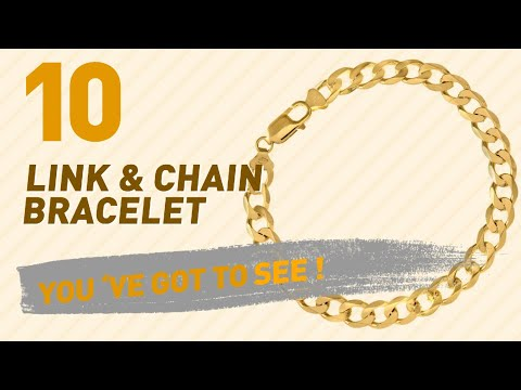 Link & Chain Bracelet Collection For Women // UK New & Popular 2017