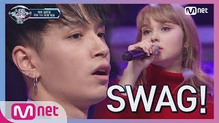 [ENG sub] I can see your voice 6 [3회] SWAG 듀엣! 한인 노래 자랑 1등 x AOMG