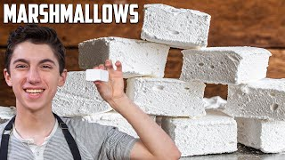 Quick & Easy Homemade Marshmallows From Scratch (DONT BUY THEM!) | Eitan Bernath