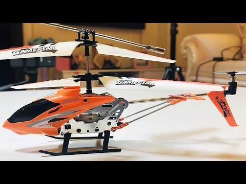 Extremely Durable #RadioControl Helicopter - UNBOX & TEST!!