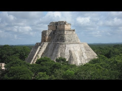 Mexico Yucatán Yukatan UXMAL Mayan Pyramid Ruins Merida Óoxmáal Maya city Uxmal Ruinen