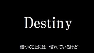 Destiny/シェネル【フル歌詞付き】byAYK