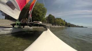 preview picture of video 'Ansegeln2014 - Kressbronn / Bodensee'
