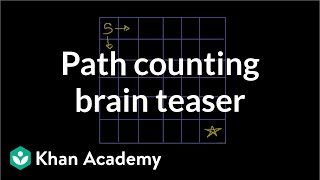 Path Counting Brain Teaser