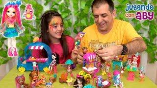 ENCHANTIMALS. Fiesta y Helados!! Jugando con mis muñecas en el bosque mágico