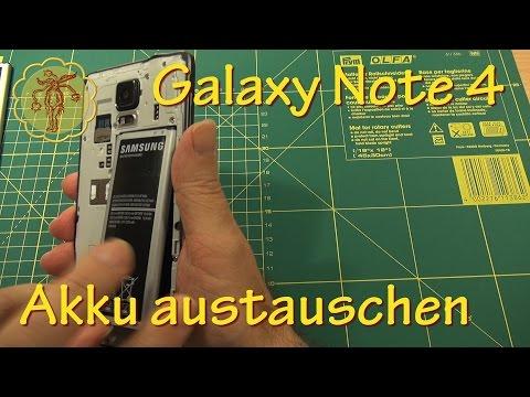 Samsung Galaxy Note 4 Akku austauschen - DIY
