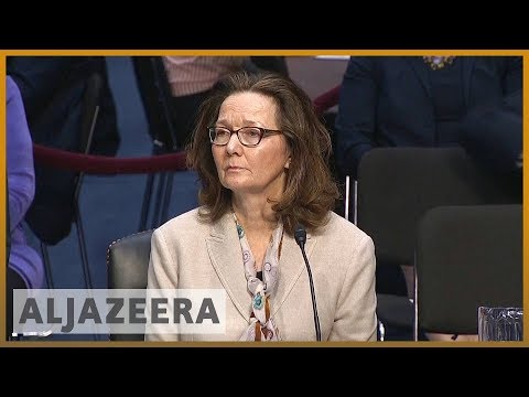 🇺🇸 CIA nominee Gina Haspel declines to say if torture is 'immoral' | Al Jazeera English