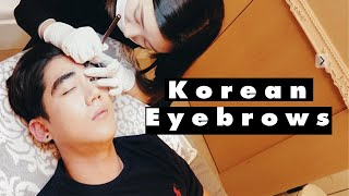 Korean Microblading For Men | Eye Brow Tattoos For Guys | Brute Choi