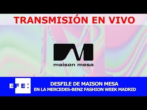 Maison Mesa desfila el la 69 edición de MBFWMadrid
