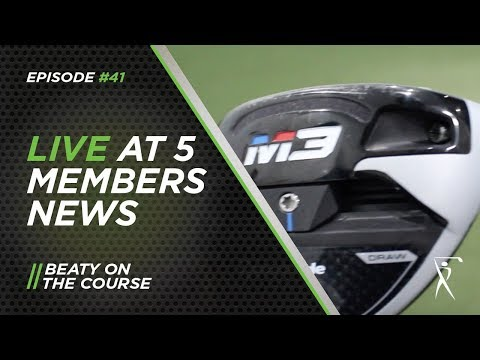 Taylormade M3 fairway vs Callaway Rogue Sub Zero fairway // Beaty Golf