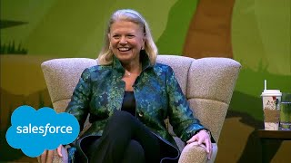 The Future of Work with Ginni Rometty and Marc Benioff