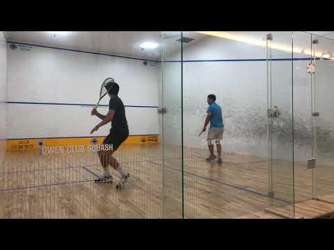 오웬클럽 스쿼시 owen club squash 2st 김형석(루비스채피) vs 남효석(오웬클럽챔피온)