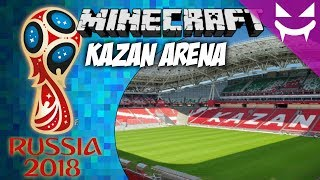 Kazan Arena Tour - Fifa World Cup 2018 (Minecraft) w/ commentary [HD]