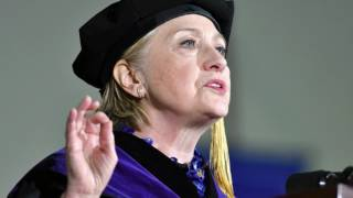 Hillary Clinton warns of assault on truth and reason during commencement speech