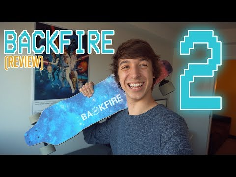 "BACKFIRE V.2 ELECTRIC SKATEBOARD (500$) ""REVIEW"""