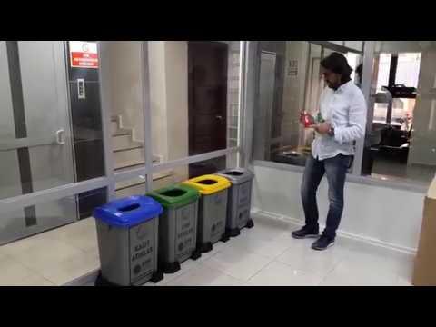 Sıfır Atık Projesi Çöp Kovaları, Sıfır Atık Çöp Kutusu Kullanımı