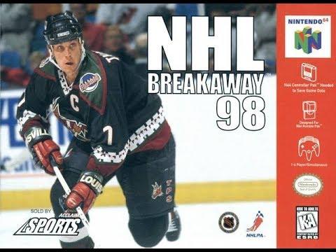NHL Breakaway 98 (Nintendo 64)
