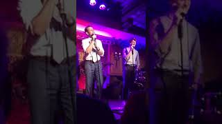 "Brody Grant and Chad Kimball sing ""Music Of My Soul"" From MEMPHIS at 54 Below"