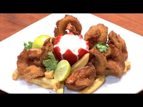 Dhe Ruchi I Ep 12 – Crumb fried seafood Recipe I Mazhavil Manorama