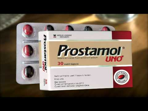 Prostatitis auf Tablet