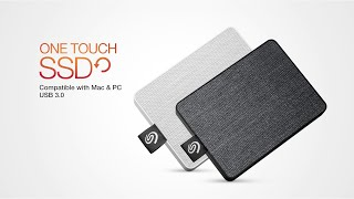 One Touch SSD I The Stylish Portable SSD for Mac and Windows