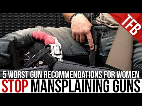 For the Ladies: 5 Worst Choices in Guns for Women
