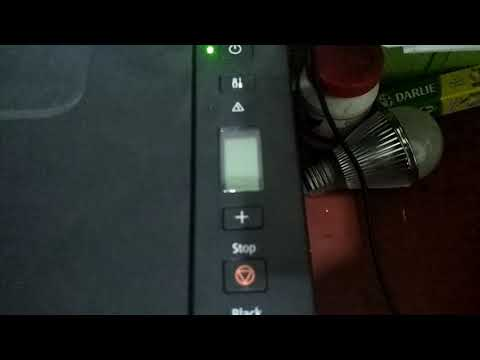 how to slove paper jam problem canon pixma G1000 printer
