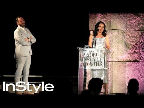 Tony Hale Presents Julia Louis-Dreyfus the Icon Award    InStyle Awards 2019   InStyle