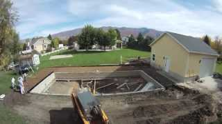 Complete Vinyl Pool Construction in 6 Weeks - Time Lapse