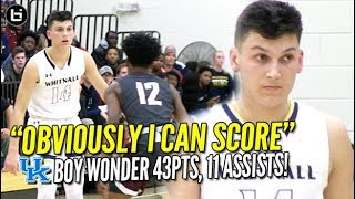 """""""OBVIOUSLY I CAN SCORE!"""" KENTUCKY commit Tyler Herro scores 43 Points, 11 Assists! Full Highlights!"""