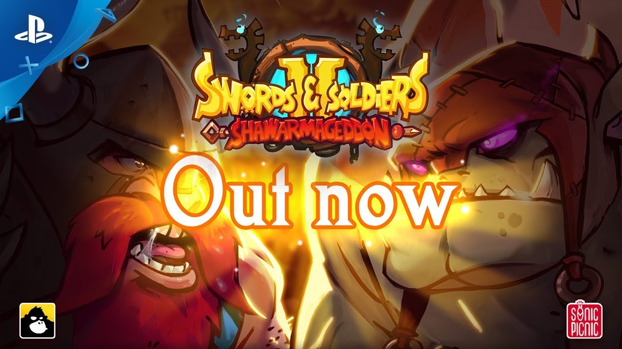 Swords and Soldiers 2 Shawarmageddon Launches Today on PS4