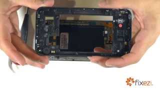 LG Optimus G Pro Screen Repair & Disassemble
