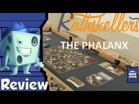Rathskellers Phalanx Table Review - with Tom Vasel