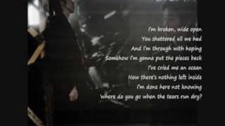 Brian Joo - Tears Run Dry (English version) with lyrics