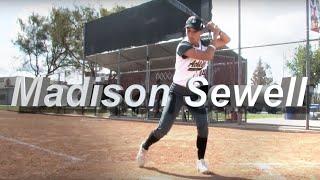 2022 Madison Sewell Slapper, Outfield & 1st Base - Softball Skills Video Socal Athletics McCarthy
